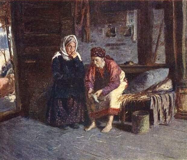 Сцены из жизни стародавней России в картинах А.Е Архипова
