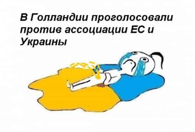 Референдум в Голландии: Обескрымленной Украине отказано в евроассоциации