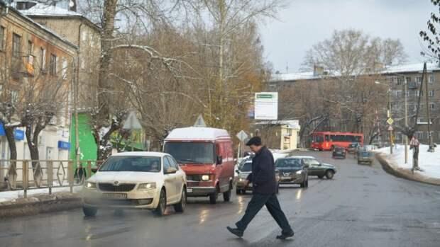 Переход дороги в неположенном месте./Фото: pg13.ru