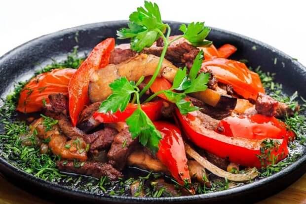 Блюда из мяса