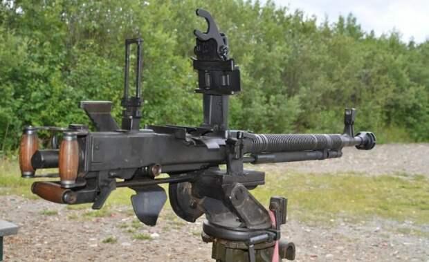 Тяжёлый пулемёт, который используется по сей день
