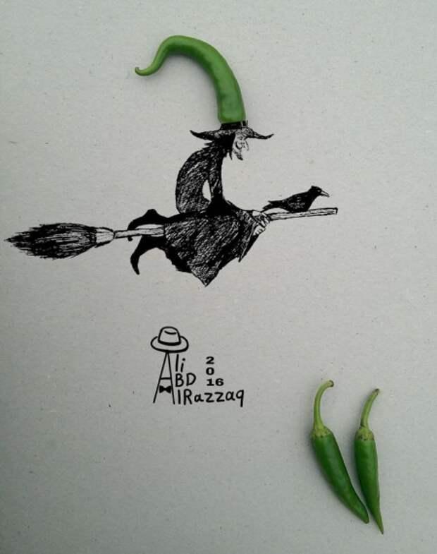 Весёлые картинки от художника-фантазёра