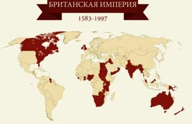 Британская колониальная империя