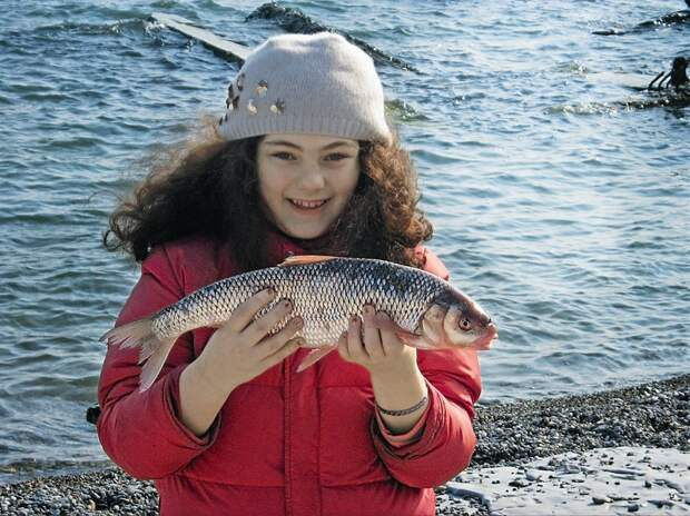Вот она, «золотая рыбка» Дагестана.
