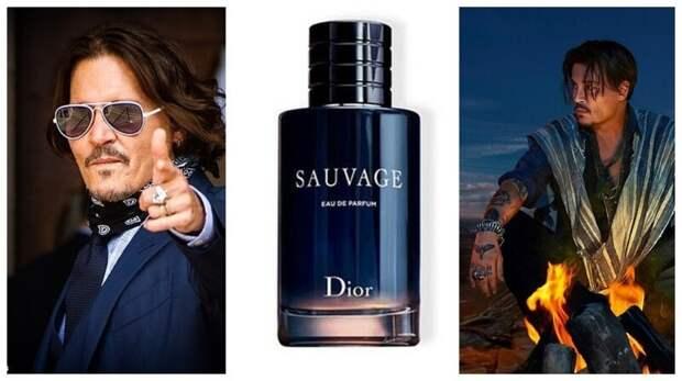 Поклонники Джонни Деппа скупают парфюм Dior вподдержку актера