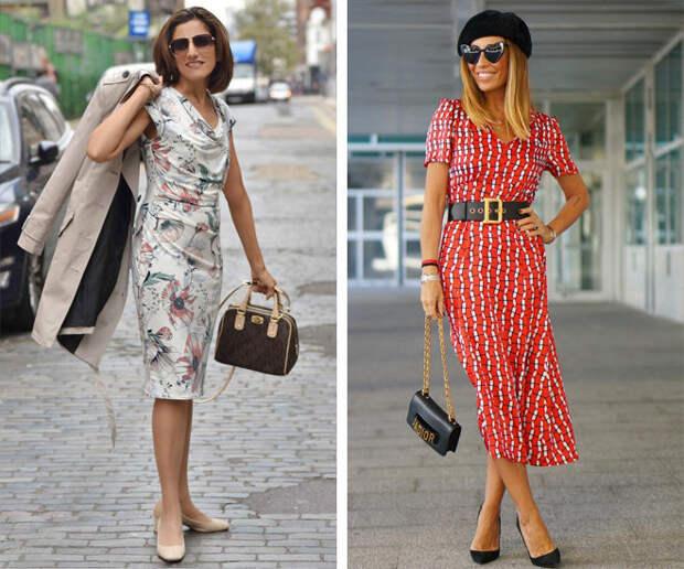 Стильные платья для тех, кому за 40: фасоны, которые стройнят и молодят