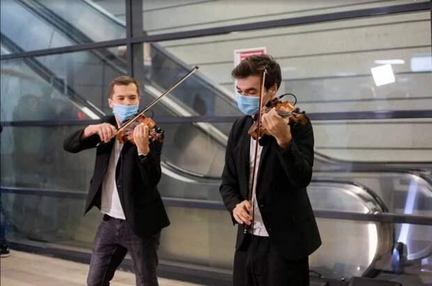 На станции МЦК «Ботанический сад» выступят музыканты