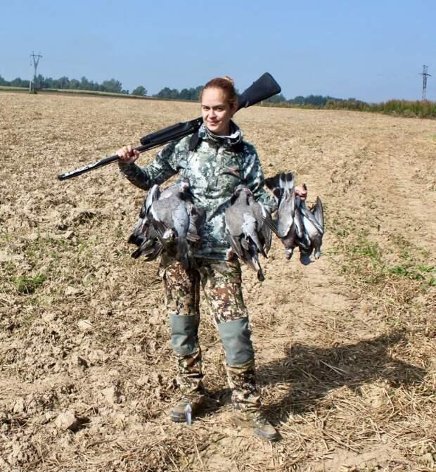 «Женский взгляд на охоту» снова на вяхиря