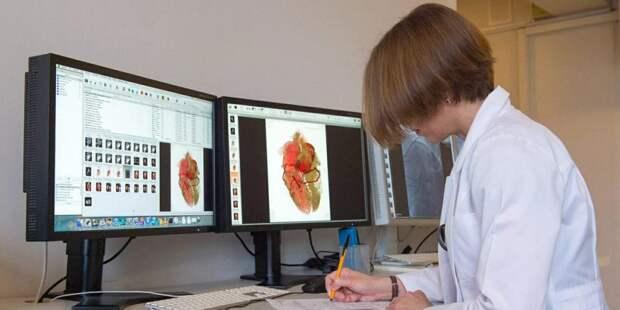 Собянин поручил завершить цифровизацию службы лучевой диагностики. Фото: mos.ru