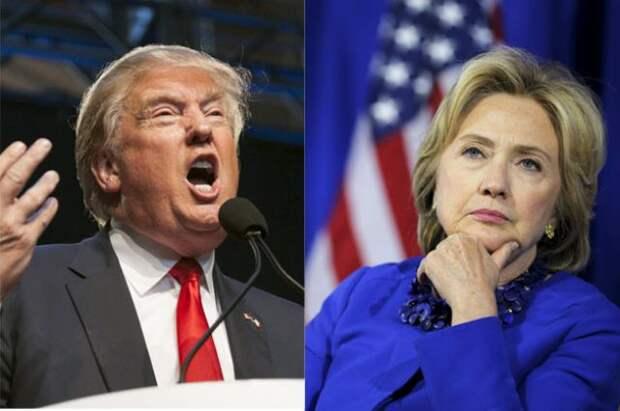 Хиллари Клинтон и Дональд Трамп: опасный момент