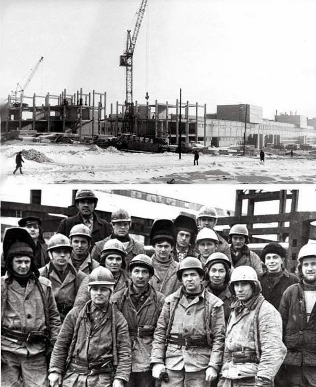 Строительство КАМАЗа