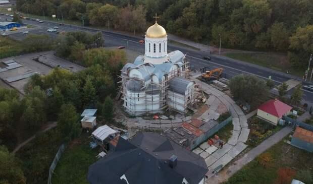 Сейчас строительство храма полностью завершено. Фото: сайт храма прп. Сергия Радонежского в Тушине