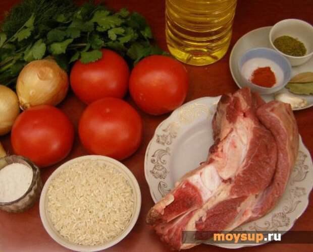 Суп-харчо — классический рецепт с тклапи, рисом и тертыми орехами