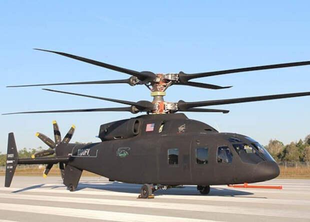 Американцы перепроектировали скоростной вертолет SB>1
