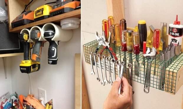 9 практичных идей для хранения в гараже, которые освободят кучу места