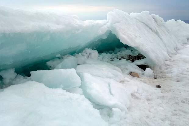 Сопки льда