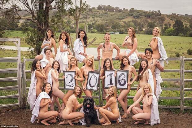 Студенты Сиднейского университета разделись для календаря