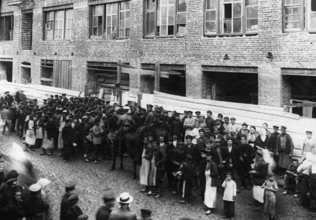 08. Демонстрация протеста. 15 апреля 1912. Санкт-Петербург