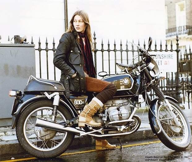 Элспет Бирд – первая британка, совершившая кругосветку на мотоцикле винтаж, история, кругосветка, мото, мотоцикл, мотоциклистка, ретро, фото