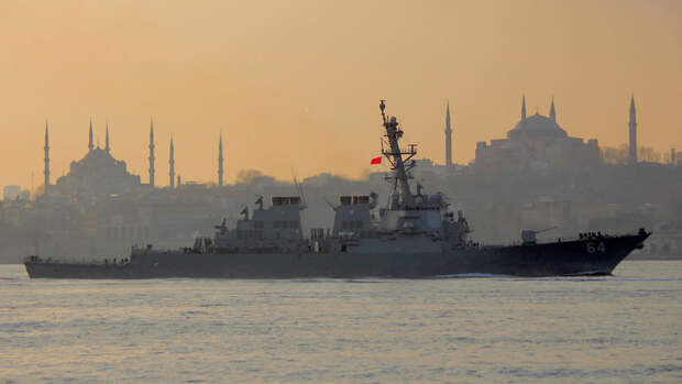 США могут отправить военный флот в Черное море для поддержки Украины
