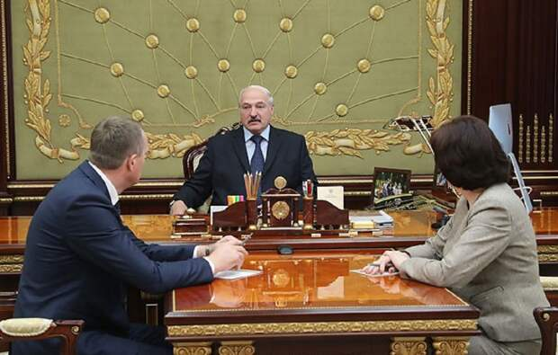 Новый залепон от белорусского президента