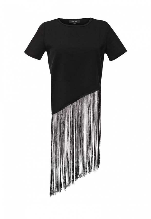 Свитшот и футболка с бахромой