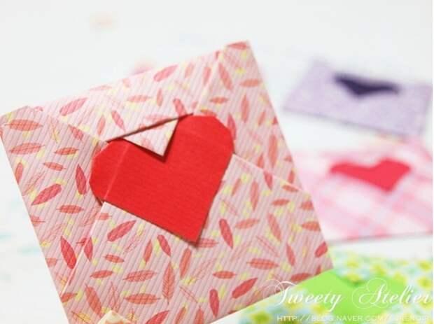 Сердечная упаковка (Diy)