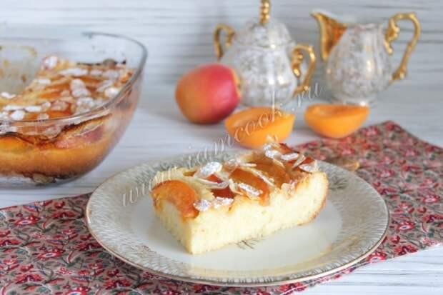 Фото манника с абрикосами