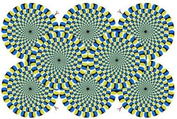 Эту иллюзию изобрел японский психиатр Акиоши Китаока