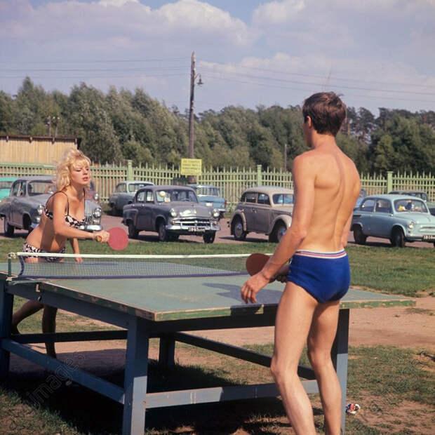 Зона отдыха в Подмосковье, 1967: СССР в фото, подборка