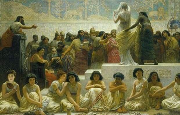 10 малоизвестных фактов о браке и отношениях полов в античные времена
