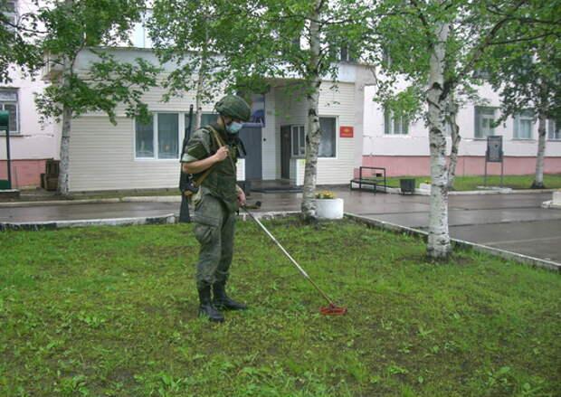 В отдельном радиотехническом центре Главного центра разведки космической обстановки прошла комплексная тренировка с подразделениями антитеррора