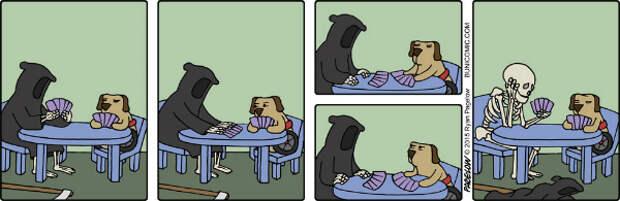 24 милых и циничных комикса, не требующих перевода