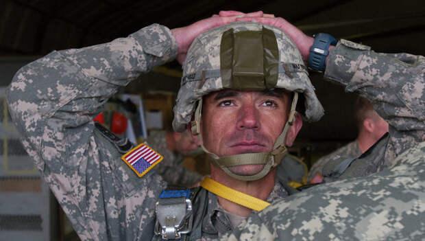 Солдат армии США. Архивное фото