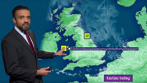 Ведущий прогноза погоды без запинки произнес название деревни из 57 букв