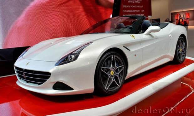 Ferrari возвращается в Индию с California T и новыми дилерами