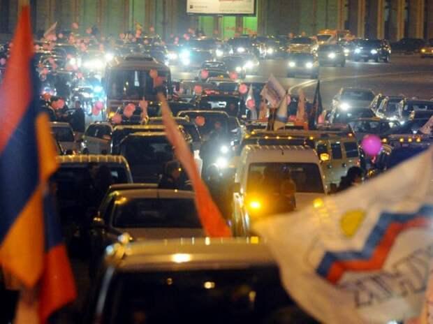 МВД приравняет автопробеги к публичным мероприятиям