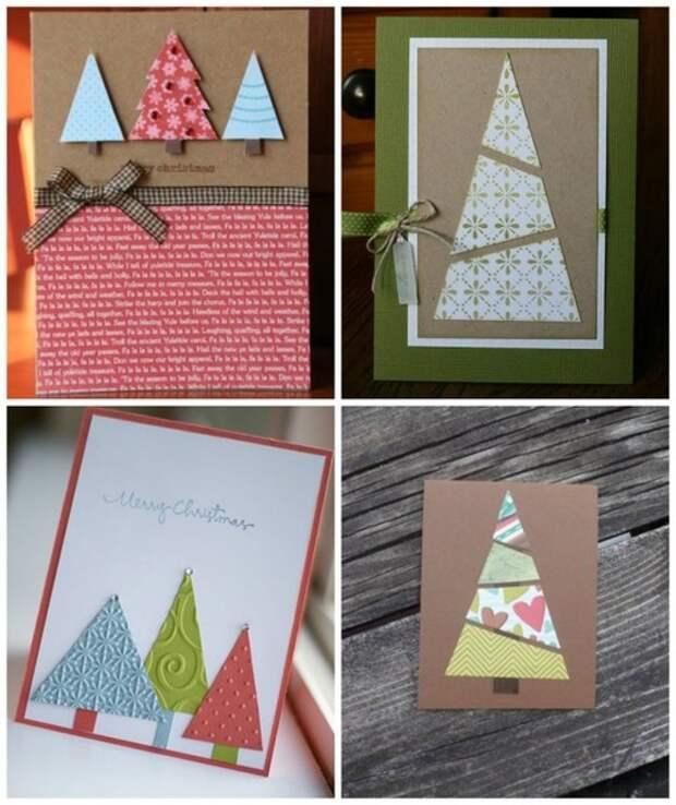 Новогодние открытки - делаем сами