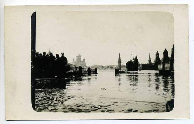 Московское наводнение 1908 года.