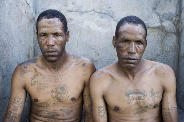 Татуировки криминального мира ЮАР