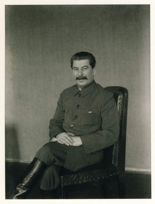 История знаменитой фотосесии Сталина.