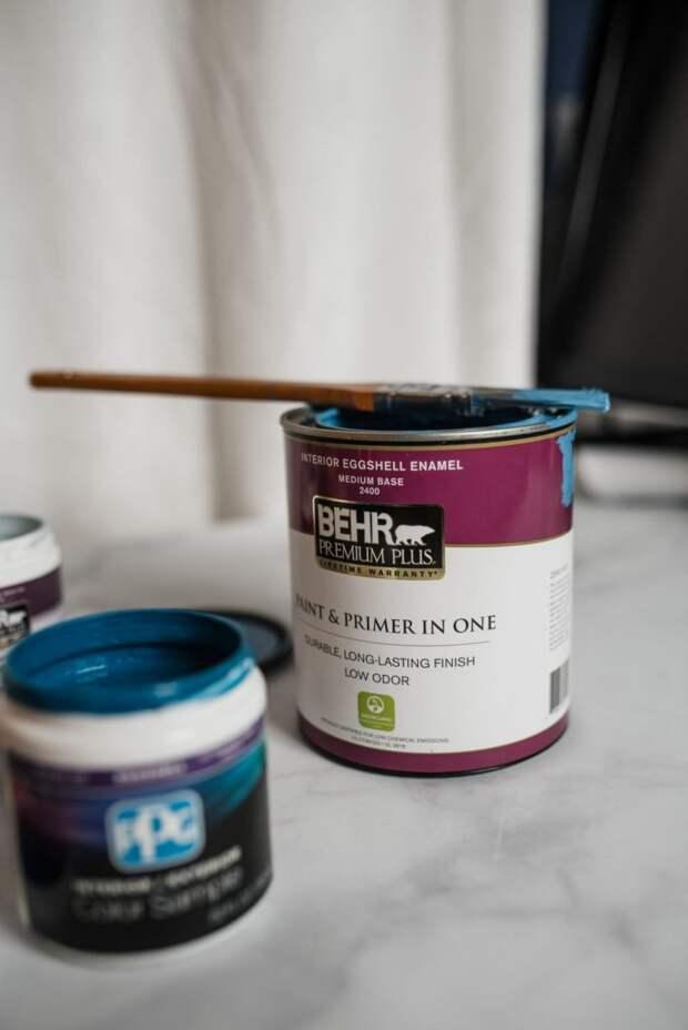 Только краска: сверхлёгкий способ украсить стену за один вечер