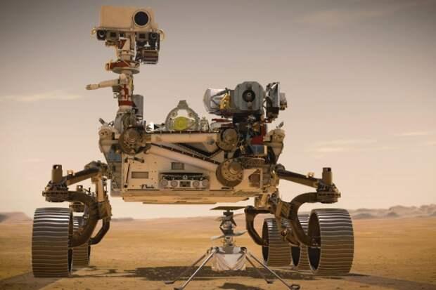 Марсоход Perseverance получил пригодный для дыхания кислород из марсианской атмосферы