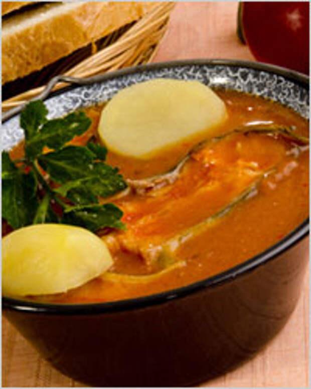 Суп-харчо из рыбы