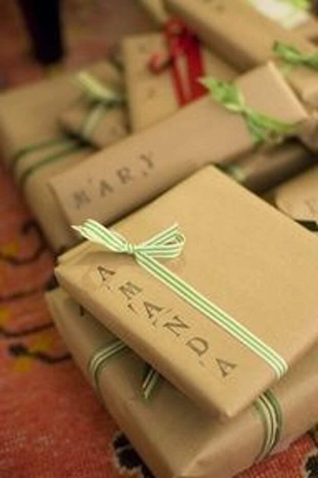 Нестандартная упаковка подарков (трафик)