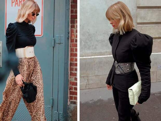 Модные и стильные способы носить ремень в 2021