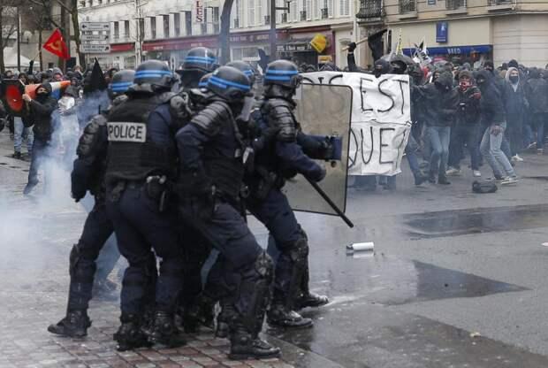 Как студенты крушили Париж