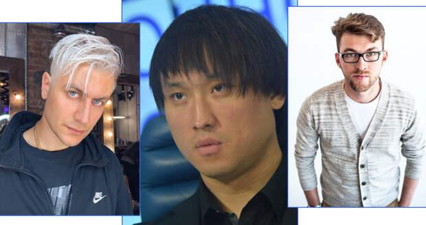 Все эти люди. Фото - слева направо: Дава, Сангаджи Тарбаев, Рамис Япаров