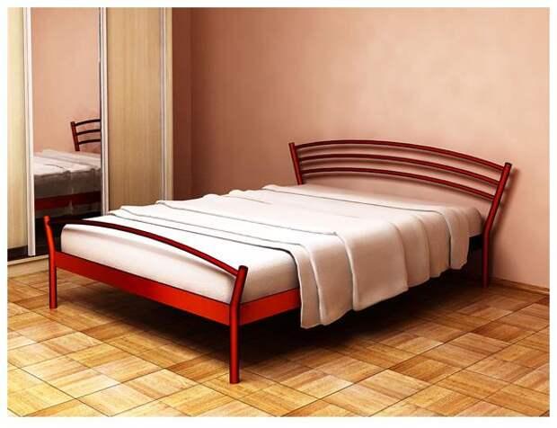 """Кровать металлическая """"Марко"""" двуспальная, полуторная, фото 1 - интернет магазин Мебель ИнтерМаг"""