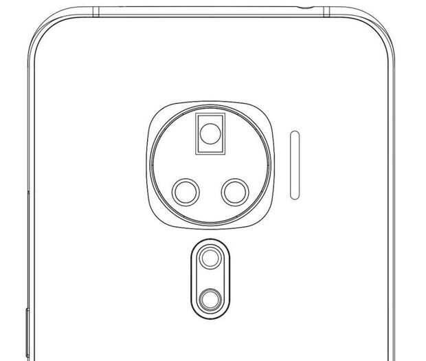 Vivo придумала смартфон с необычной многомодульной камерой
